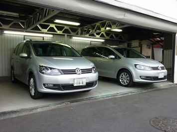 VWシャラン 2台