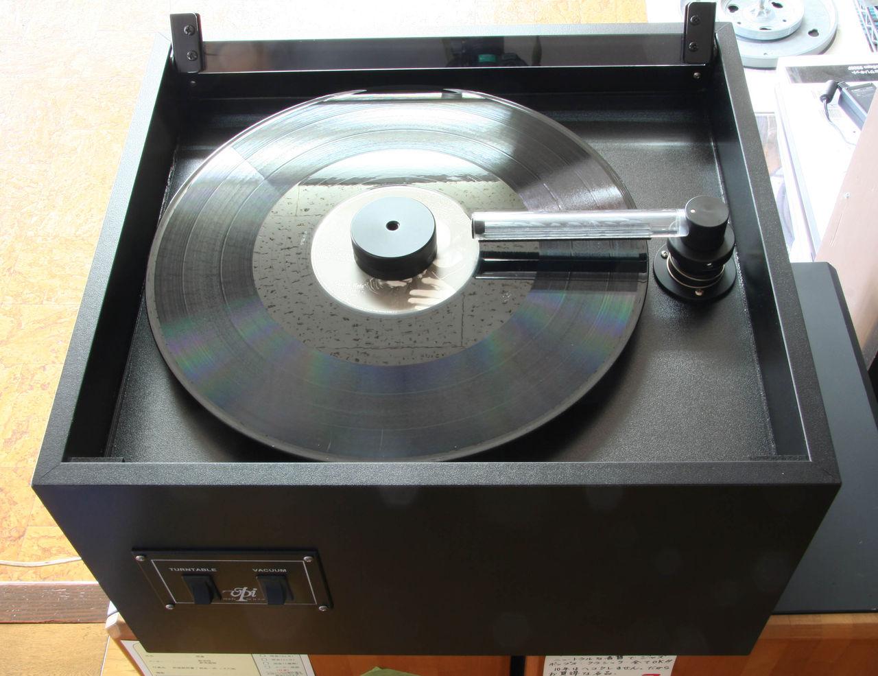 店長のひとりごと:<b>レコード</b>からCD制作 VPI<b>レコードクリーナー</b>導入 <b>...</b>
