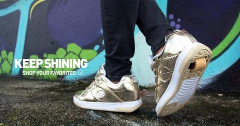 heelys-gold-roller-shoes
