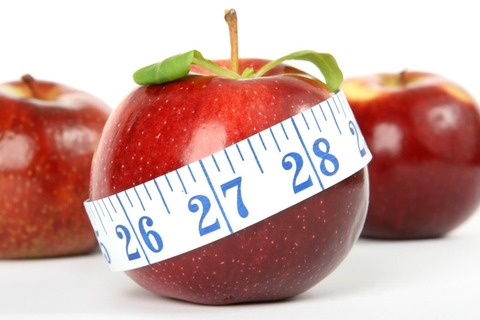 ダイエット イメージ りんご メジャー フリー素材-1024x682