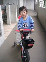 自転車乗るゾ!