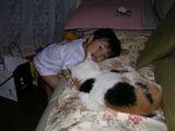 猫と一緒にコロン・・