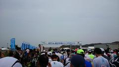 第2回銚子半島ハーフマラソン、スタート。