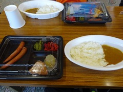 太子館の夕飯(サバ無しバージョン)