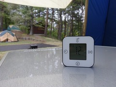1日目2日目共に朝は12℃