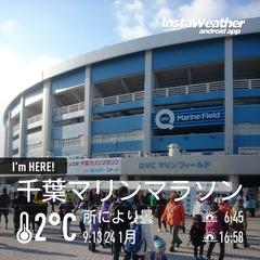 千葉マリンマラソンの会場、マリンスタジアム