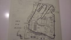 検見川クロスカントリー大会コース図
