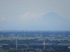 富士山も見えた