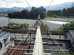 塩郷の吊り橋3