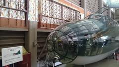 飛行館の爆撃機