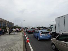 美浜大橋の渋滞