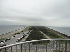 富津岬の陸地側
