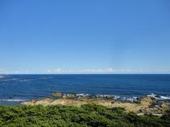 野島崎灯台から太平洋