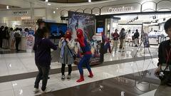 スパイダーマン2の宣伝