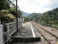 奥大井湖上駅4