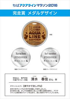 完走賞メダルデザイン