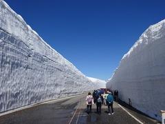 快晴の雪の大谷1