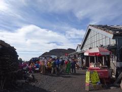 山頂の売店