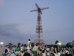 落下傘訓練の塔