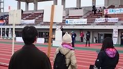 レース後の東京マラソン抽選会