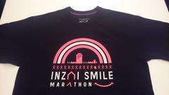 印西スマイルマラソンの参加賞Tシャツ