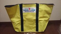 ちばアクアラインマラソン2016・参加賞兼手荷物預け用バッグ