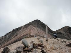 蚕玉岳から剣が峰