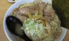 吉三郎:ラーメン醤油・細麺・ちょってり・中盛り