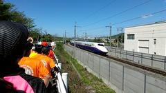 長野新幹線きたー