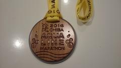 ちばアクアラインマラソンメダル2016①