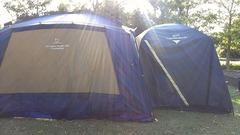 テントとドッキング