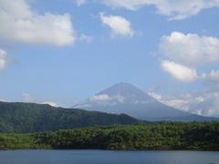 西湖から富士山2