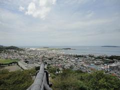 館山城からの景色