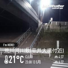 荒川河川敷(平井大橋付近)
