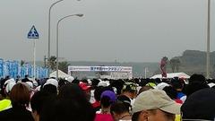銚子半島ハーフマラソンスタート前