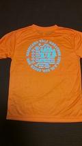 軽井沢ハーフマラソンのTシャツ裏