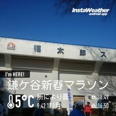 鎌ケ谷新春マラソン会場・福太郎スタジアム