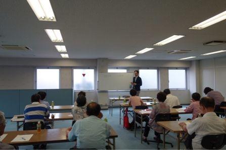 日本生命 学園前営業部での相続セミナー