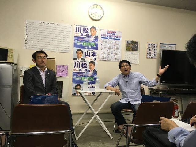 川松VS生田