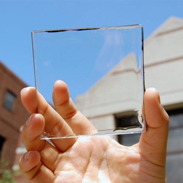 透明ソーラーパネル