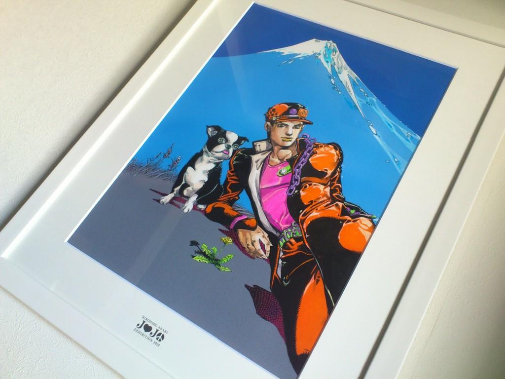 ジョジョ展東京キービジュアル複製原画をようやく飾る ウブブログ