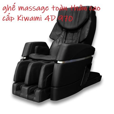 ghế massage toàn thân cao cấp Kiwami 4D 970