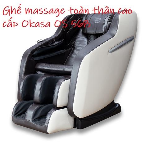Ghế massage toàn thân cao cấp Okasa OS 568