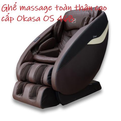 Ghế massage toàn thân cao cấp Okasa OS 468