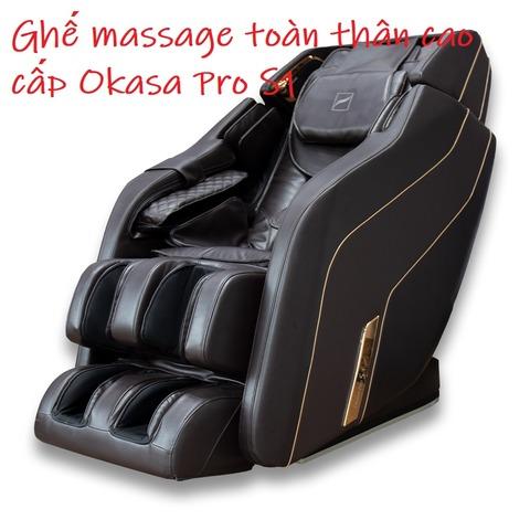 Ghế massage toàn thân cao cấp Okasa Pro S1