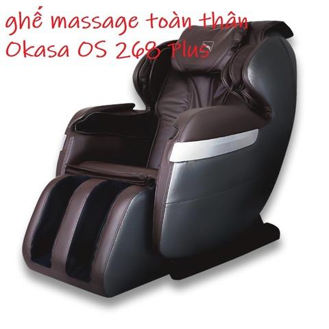 ghế massage toàn thân Okasa OS 268 Plus
