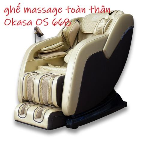 ghế massage toàn thân Okasa OS 668