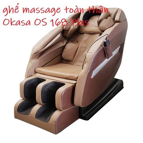 ghế massage toàn thân Okasa OS 168 Plus