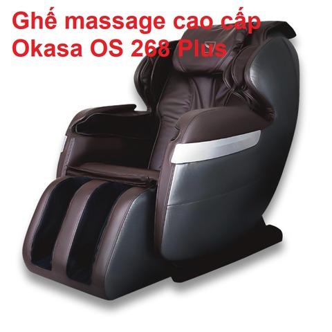 Ghế massage cao cấp Okasa OS 268 Plus
