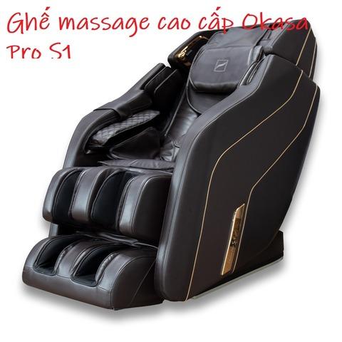 Ghế massage cao cấp Okasa Pro S1